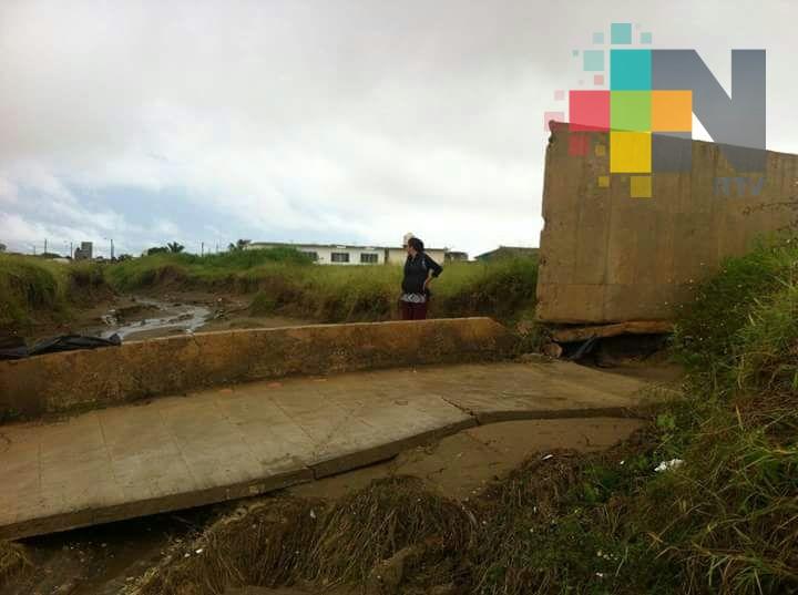 Supervisará Obras Públicas daños por lluvias en escuelas de Coatzacoalcos