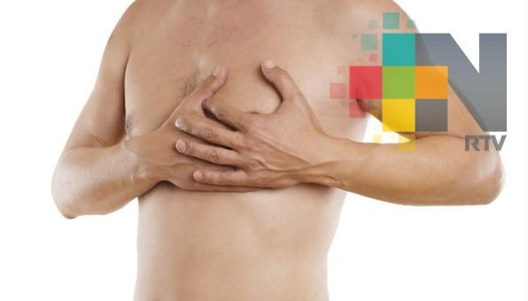 Cáncer de mama también afecta a varones