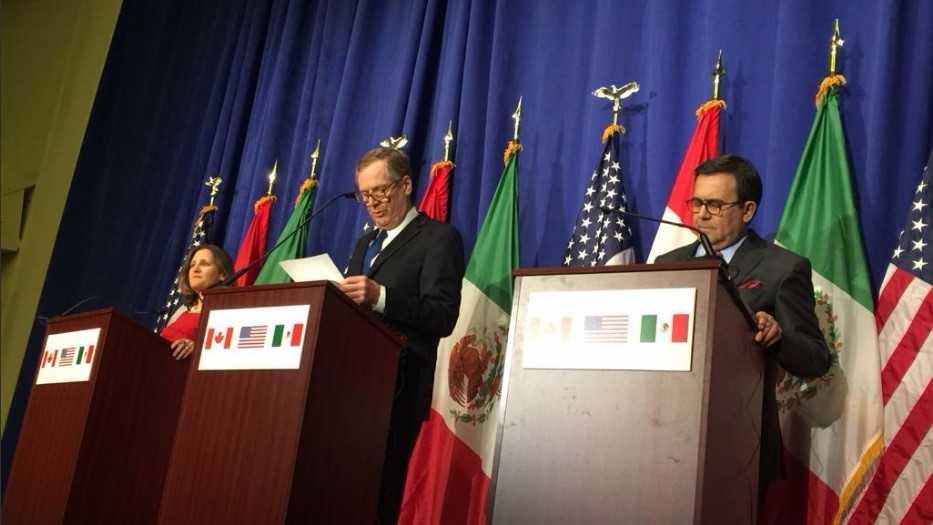 EU se dice decepcionado de México y Canadá en negociación del TLCAN