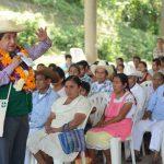 Difunde diputado en cuatro municipios del norte la convocatoria para el Consejo Indígena