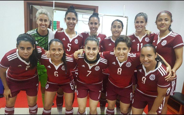 """Tricolor femenil pierde 3-0 con Brasil en """"Torneo cuatro naciones"""""""