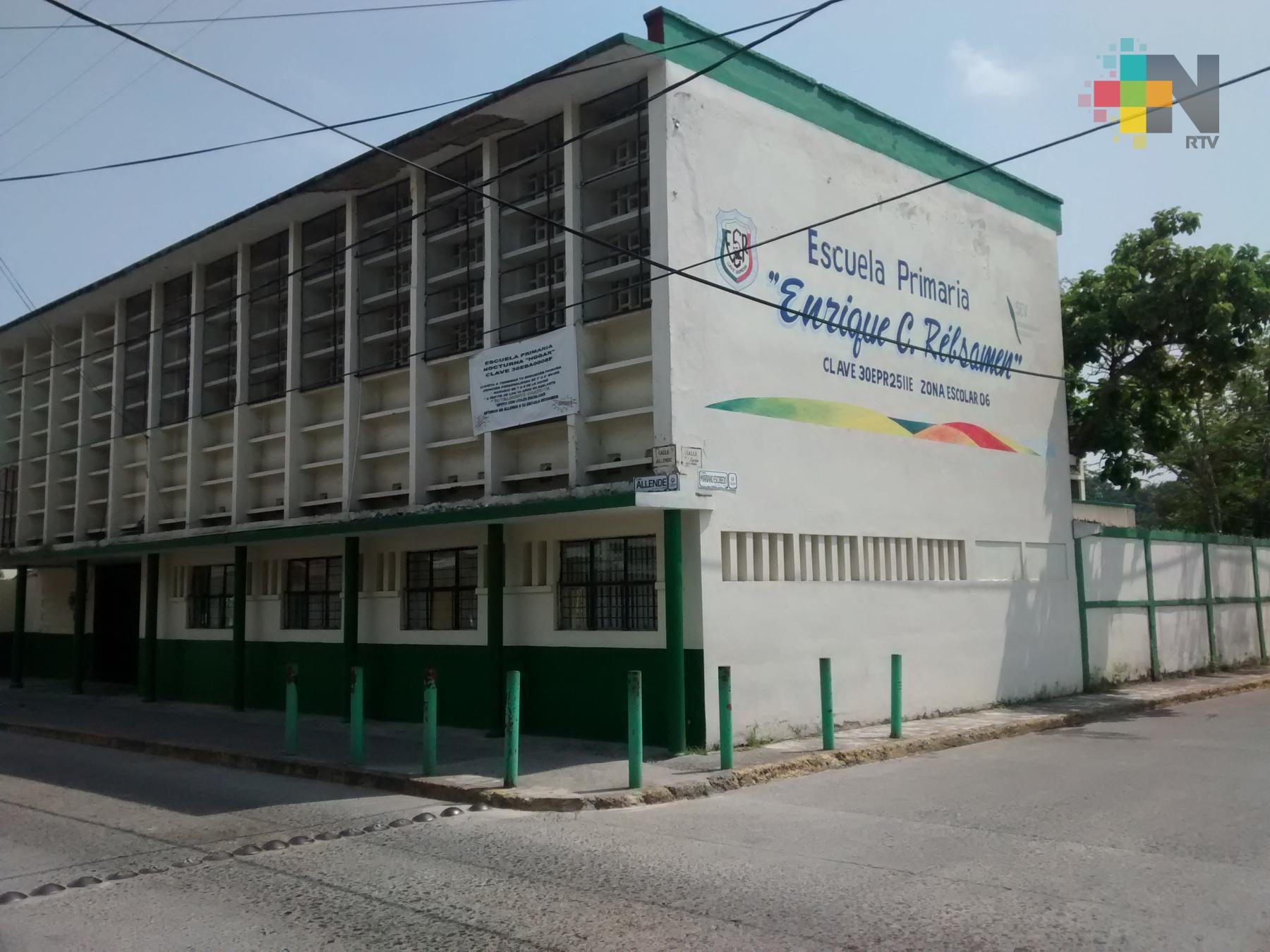 Algunas escuelas de Tuxpan dejarán de ser utilizadas como refugios temporales