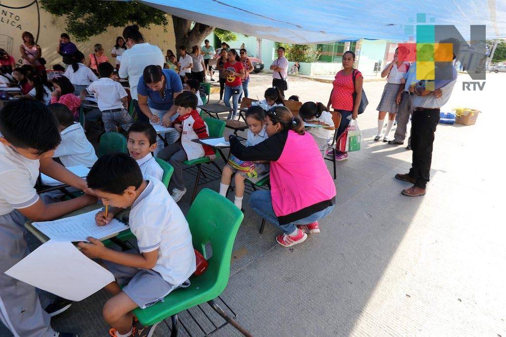 Reubicarán a casi medio millón de alumnos en el país, tras sismos de septiembre