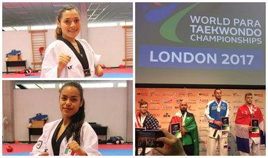 Cosecha México cuatro medallas en Mundial de Para Taekwondo Londres 2017