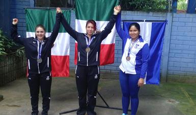 Gana México dos medallas de oro y una de plata en tiro deportivo