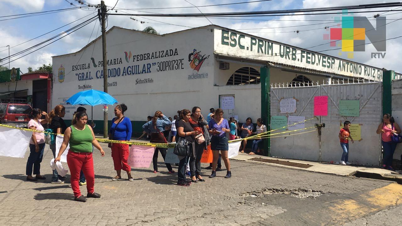 Exigen dictamen de riesgos en escuela primaria Cándido Aguilar de Córdoba