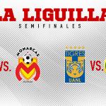 Monterrey-Morelia y Tigres-América semifinales del Apertura 2017