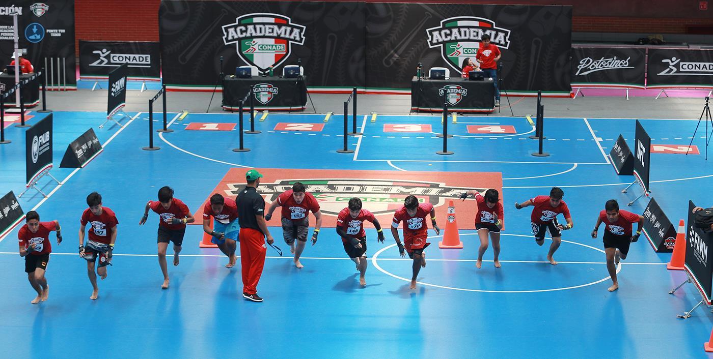 Facultad Educación Física de la UV sede de Academia Conade MMA