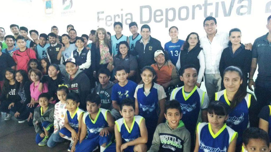 Brinda IVD apoyo al deporte en Banderilla