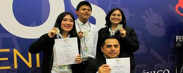 Estudiantes veracruzanos representarán a México dentro de la Feria Eureka en Perú
