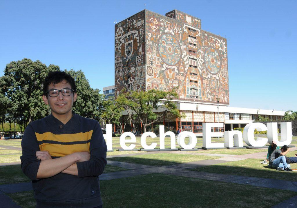 Egresado de la UNAM de origen zapoteca cursa doctorado en el Instituto Tecnológico de Massachusetts
