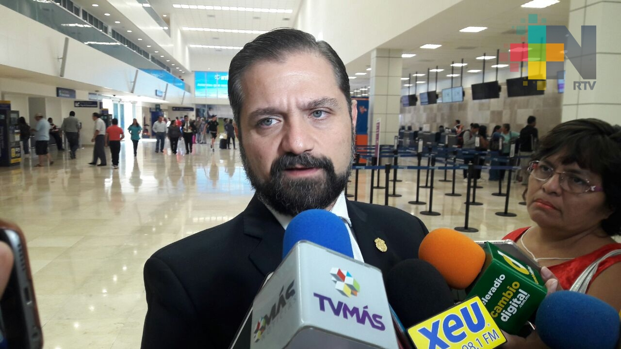 Ninguna empresa en Veracruz ha dejado la entidad por problemas de inseguridad: Zairck Morante