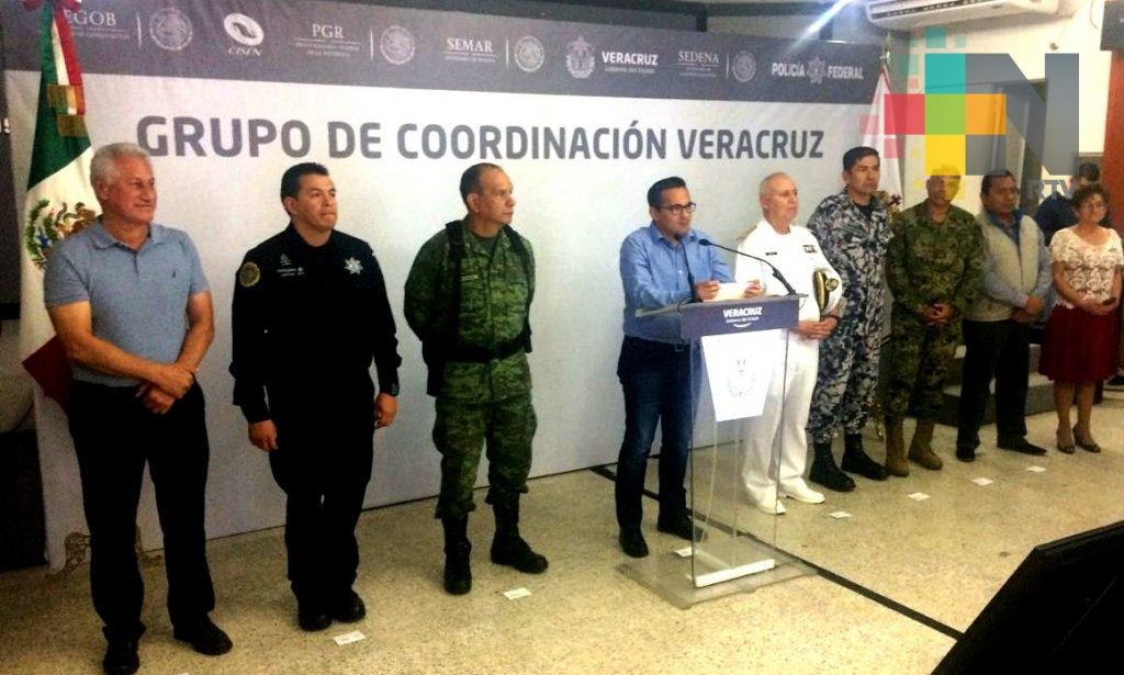 Anuncian SSP y FGE refuerzo de seguridad en Coatzacoalcos
