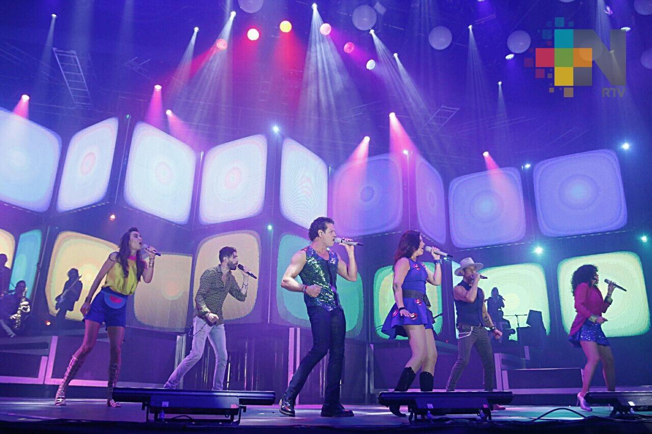 Timbiriche sigue vigente y refrenda su éxito en Veracruz