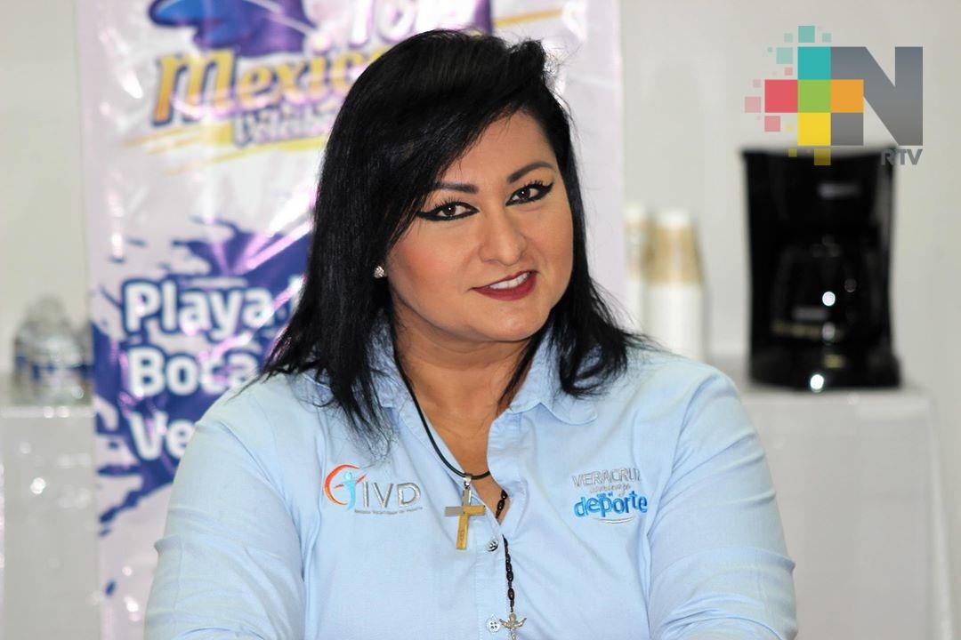 Estamos listos para recibir la Academia CONADE AMM: María de los Ángeles Ortiz