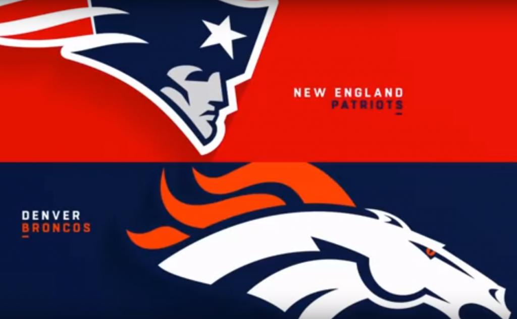 Patriotas vence 41-16 a Broncos en Domingo por la Noche NFL
