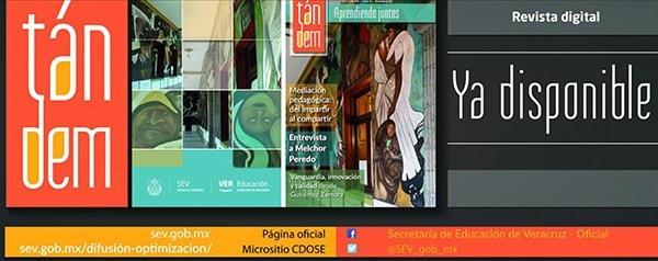 Lanza SEV revista digital Tándem: Aprendiendo juntos
