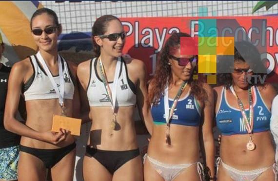 Itzel Santoyo tricampeona en Tour Mexicano Voleibol de Playa