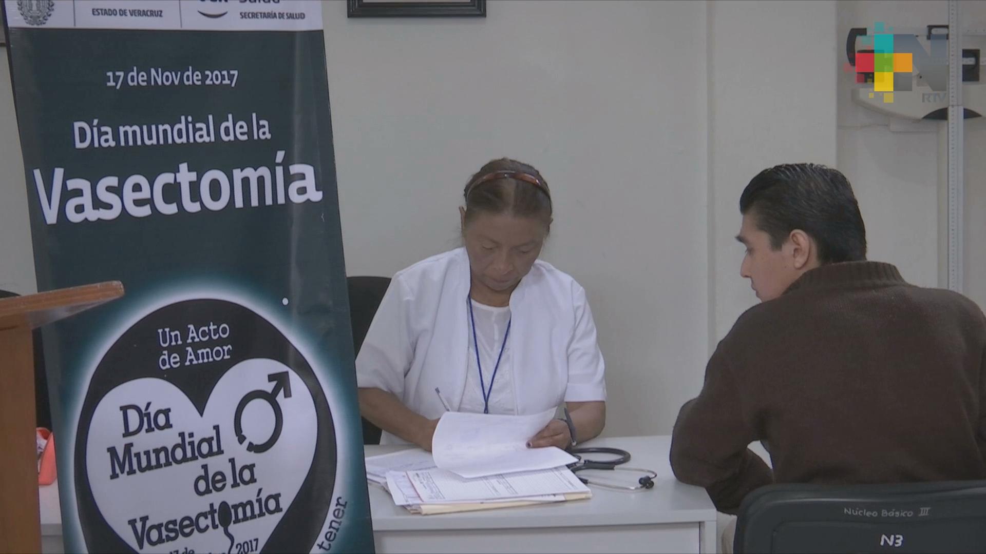 Celebran el Día Mundial de la Vasectomía sin Bisturí