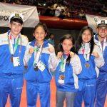 Cierra Veracruz con tres oros en wu shu en Juegos Nacionales Populares 2017