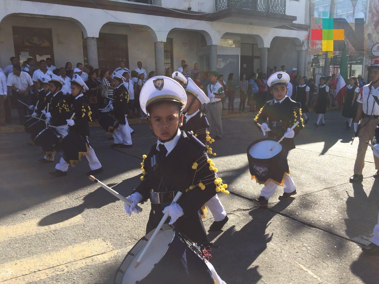 En municipios de Veracruz conmemoran aniversario de la Revolución Mexicana