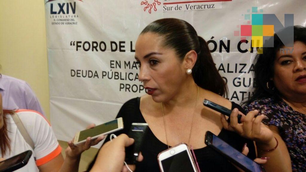 Trabaja Congreso en elaboración de leyes anticorrupción: Cinthya Lobato