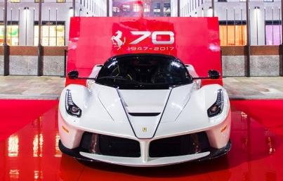Ferrari celebra 70 años de innovación y glamour en Londres