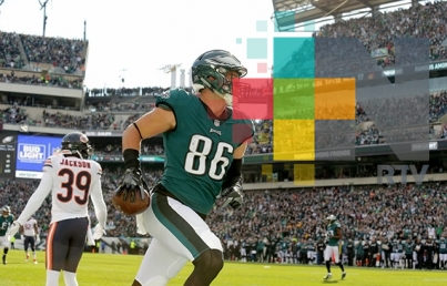 Filadelfia aplasta a Chicago y sigue en la cima de NFL