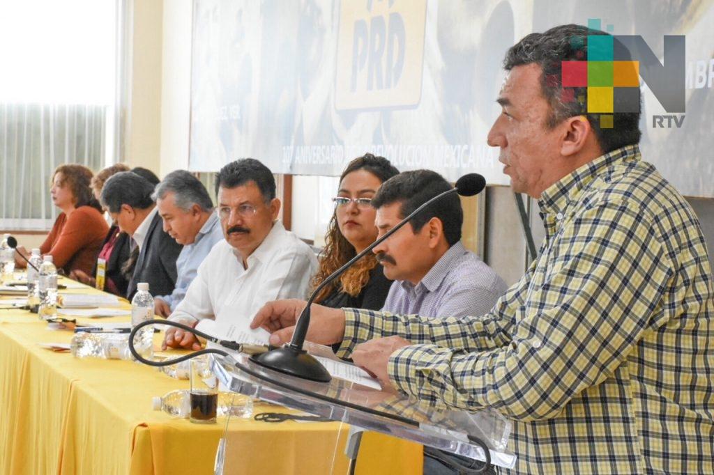 Destaca dirigente del PRD en Veracruz logros en el primer año de gobierno de Miguel Ángel Yunes Linares