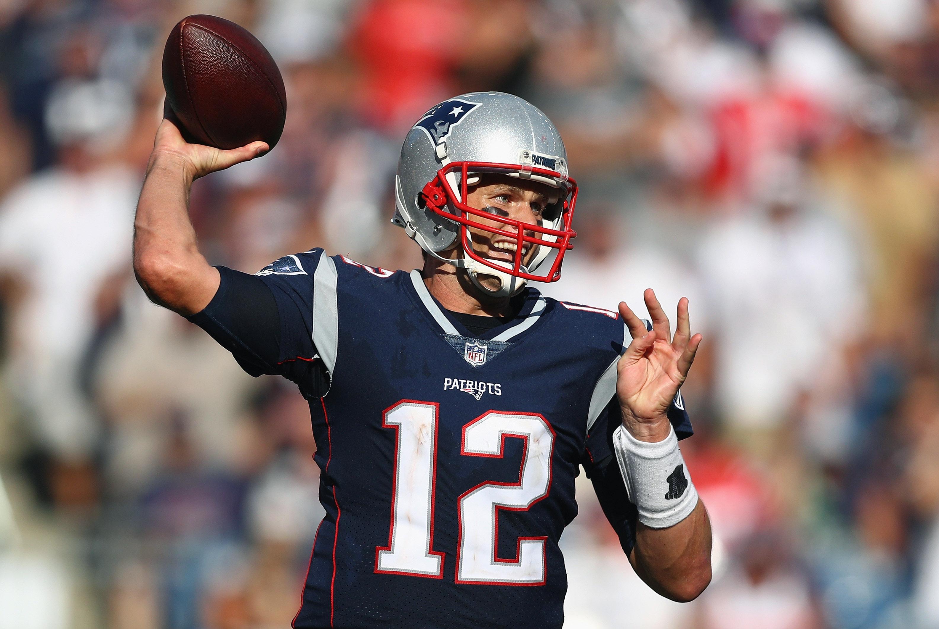 Gran demanda de jerseys de Tom Brady en stands del Estadio Azteca