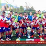 Los Tiburones Rojos Sub-15 son campeones en la Medellín Soccer Cup