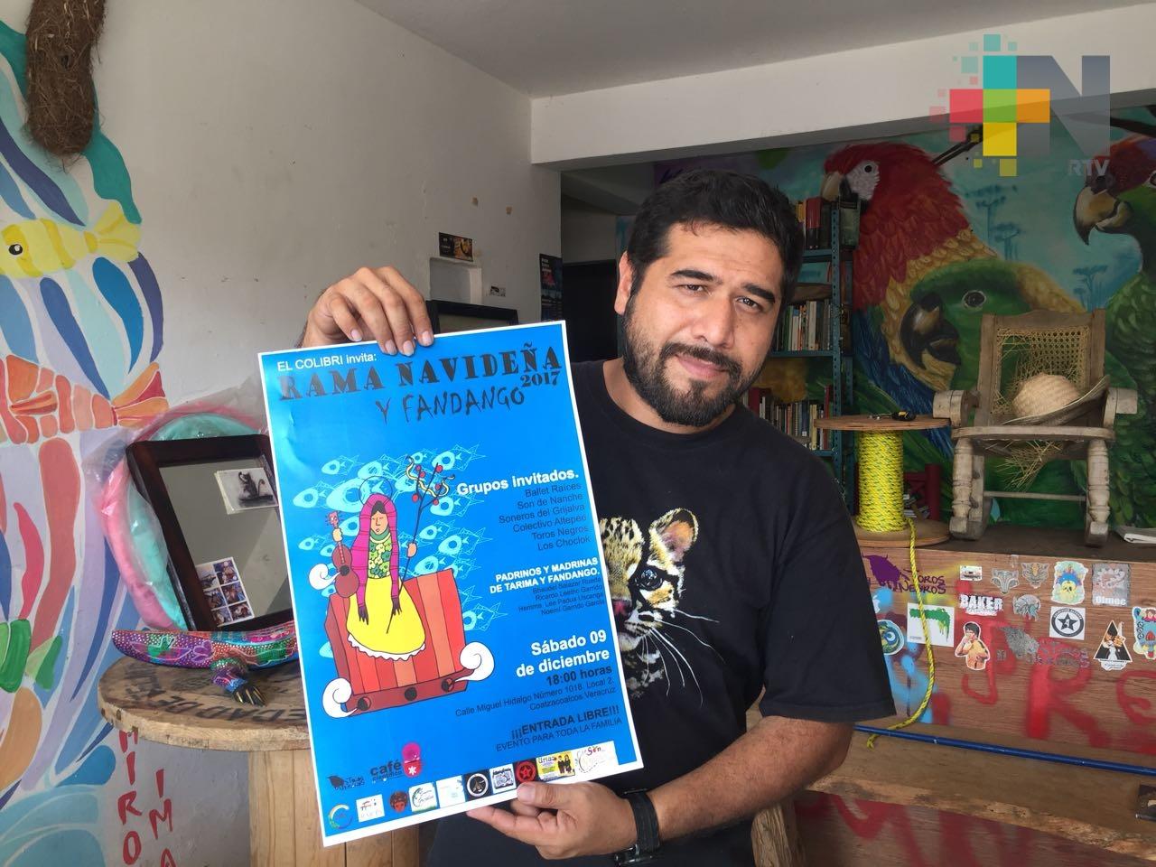 En Coatzacoalcos celebrarán la rama navideña y fandango