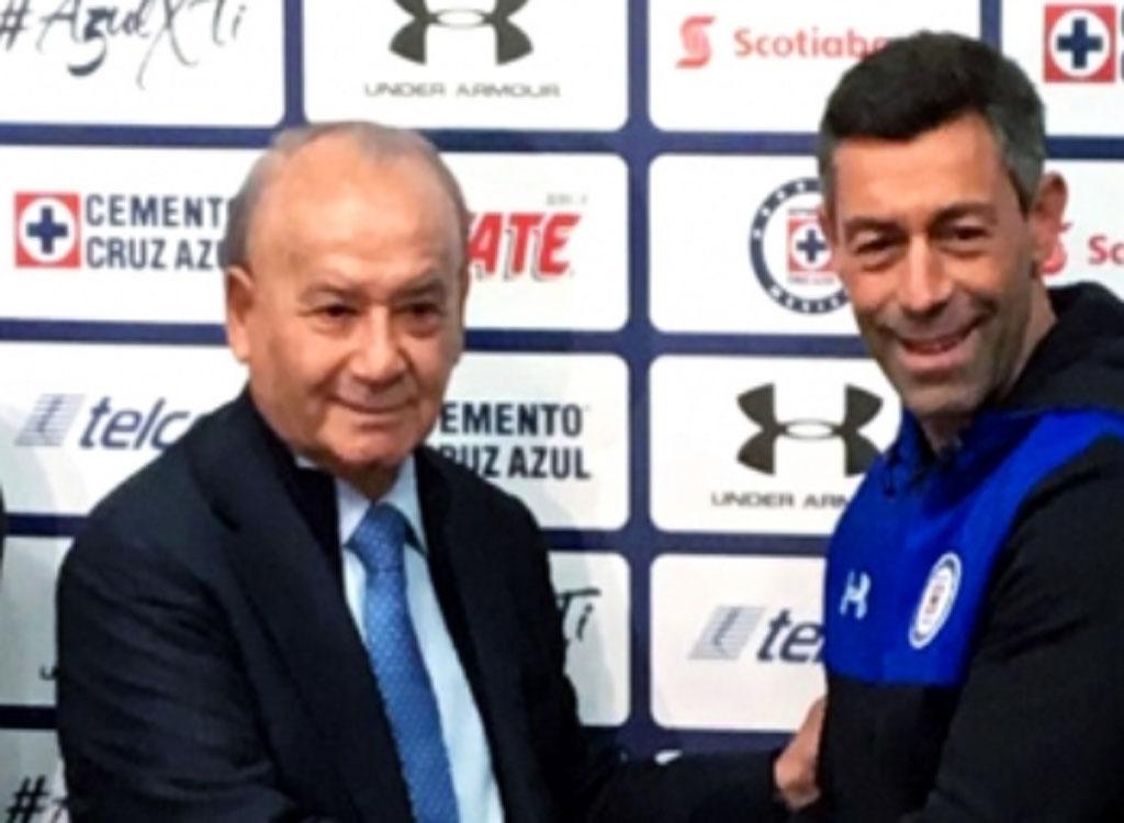 Ahora con Pedro Caixinha, Cruz Azul busca acabar con 20 años sin título