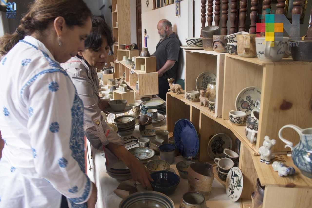 Anuncia IVEC la cuarta Feria de la Cerámica del 2017, en Jardín de las Esculturas