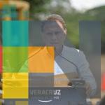 Inicia el gobernador Yunes reconstrucción de la carretera Acayucan-Soteapan