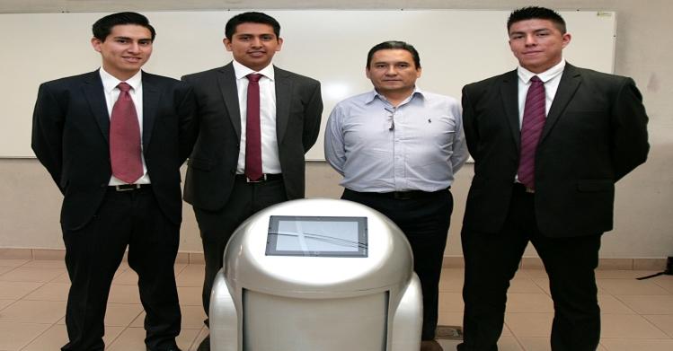 "Politécnicos crean robot que realiza labores de ""office boy"""