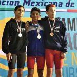 Continúan destacando los veracruzanos en Campeonato Nacional de Natación 2017