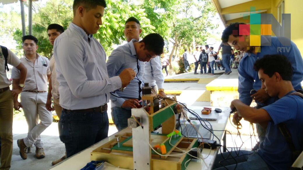 Expone Itesco proyectos finales de Ingeniería Mecánica
