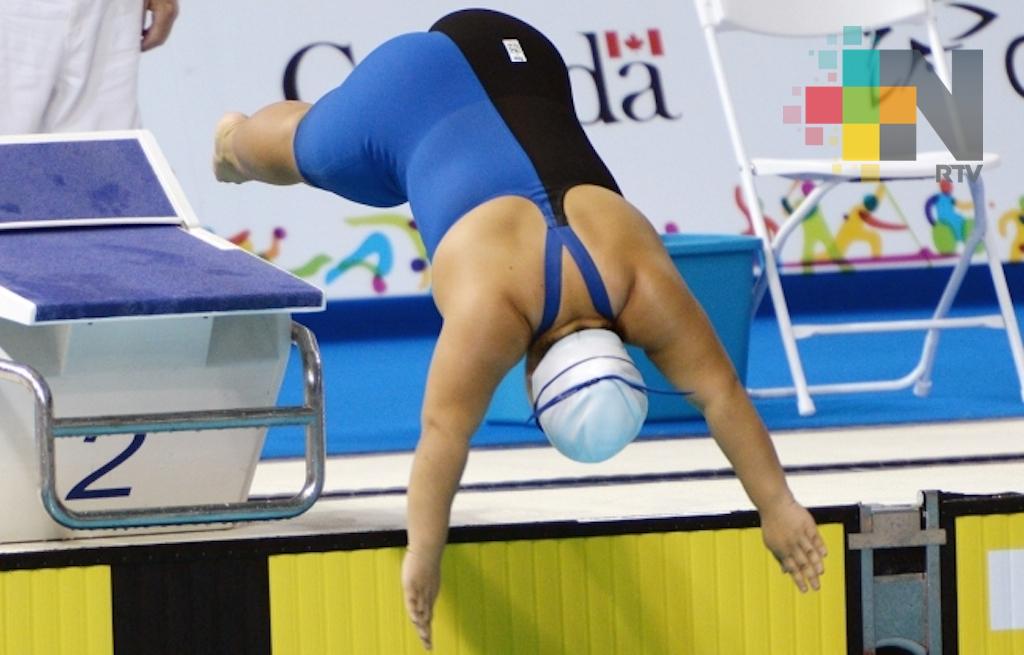Mexicana Naomi Somellera obtiene plata en Mundial de Para-Natación