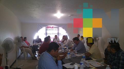 En Tuxpan, más de 160 aspiran a integrar consejo electoral distrital del OPLE