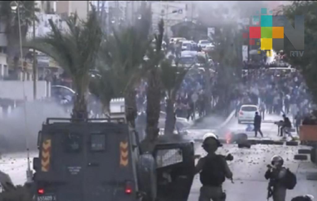 Segundo día de furia palestina deja un muerto y 254 heridos