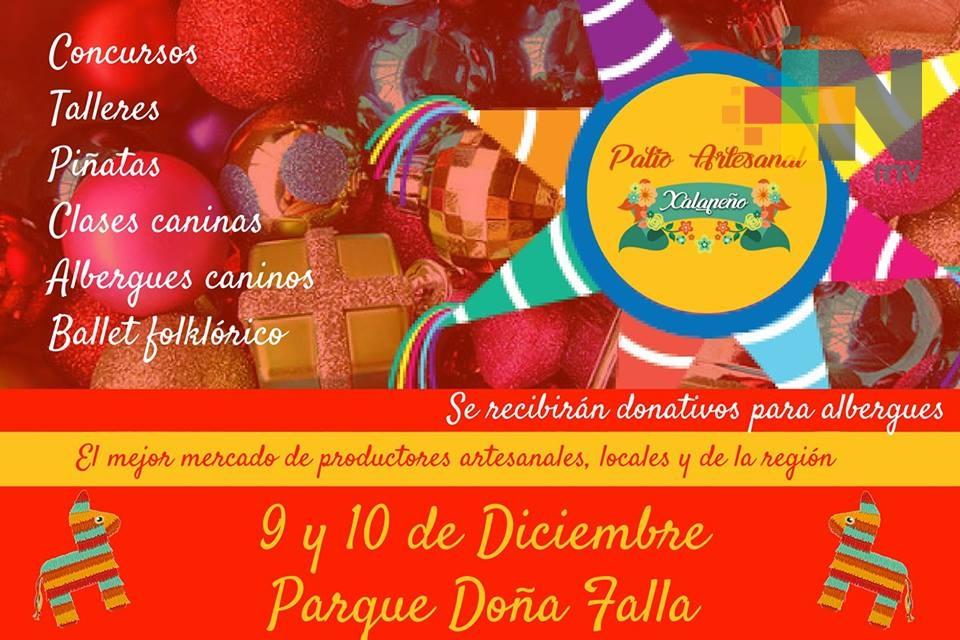Parque Doña Falla presenta Patio Artesanal Xalapeño