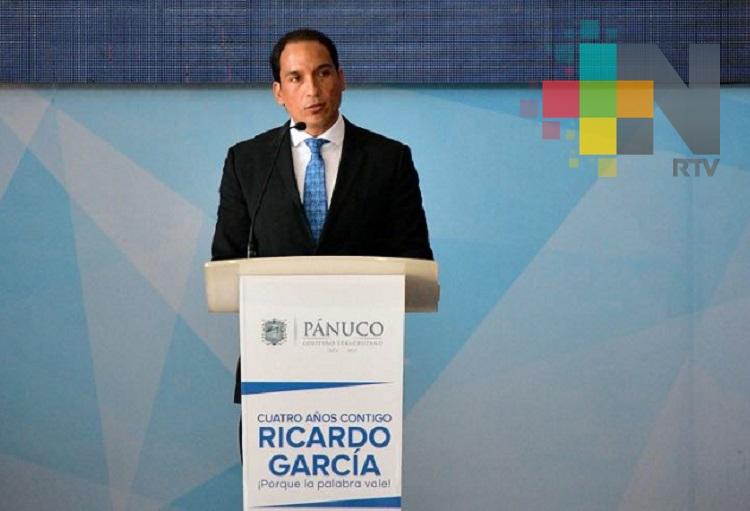 Alcalde de Pánuco rinde su cuarto y último informe