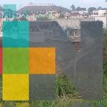 Socavón en fraccionamiento Lomas Río Medio de Veracruz