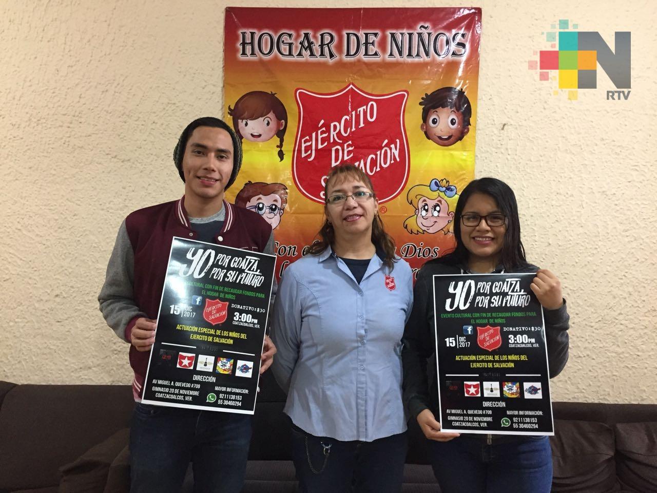 Voluntarios organizan evento cultural en beneficio de la Casa Hogar Ejército de Salvación
