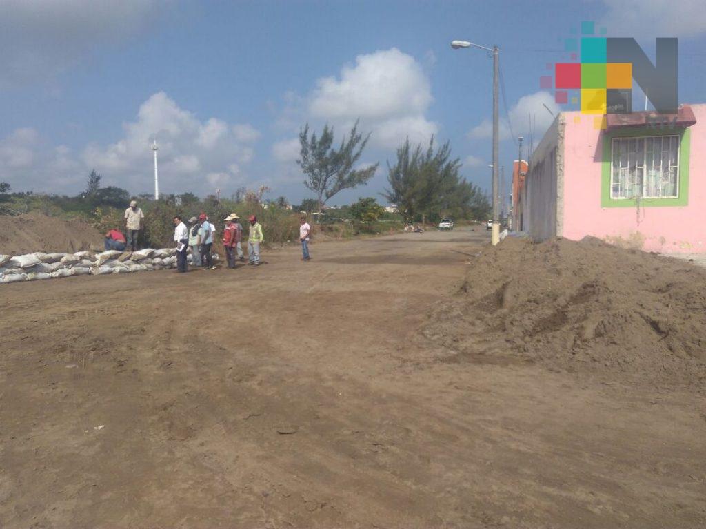 Reparan socavón en fraccionamiento Lomas de Río Medio III de Veracruz