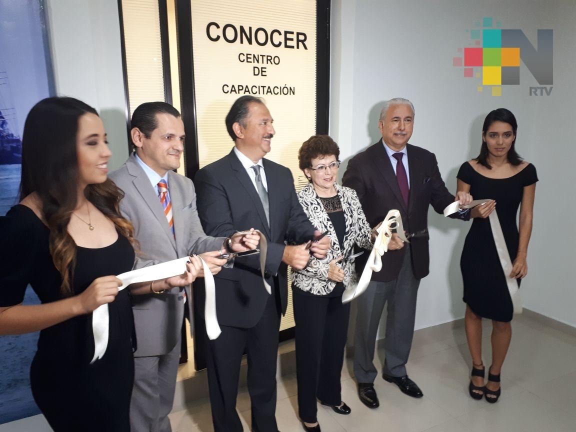 En Veracruz inauguran instalaciones del Consejo Nacional de Normalización y Certificación de Competencias Laborales