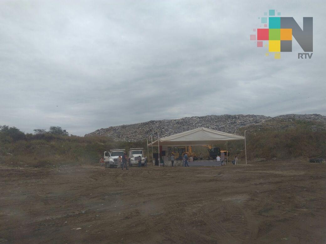 En Veracruz clausuran tiradero a cielo abierto