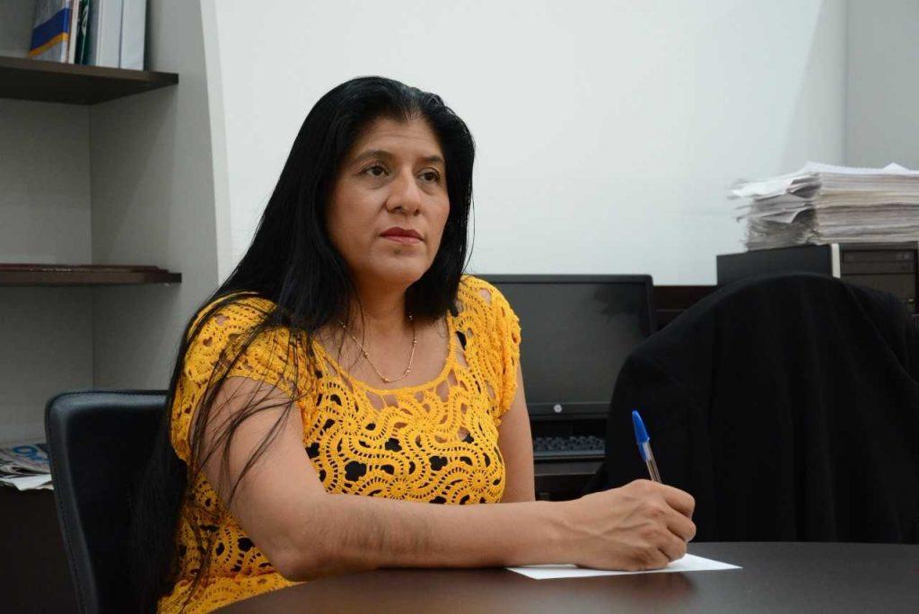 Diputada Copete Zapot se reincorpora a sus actividades legislativas