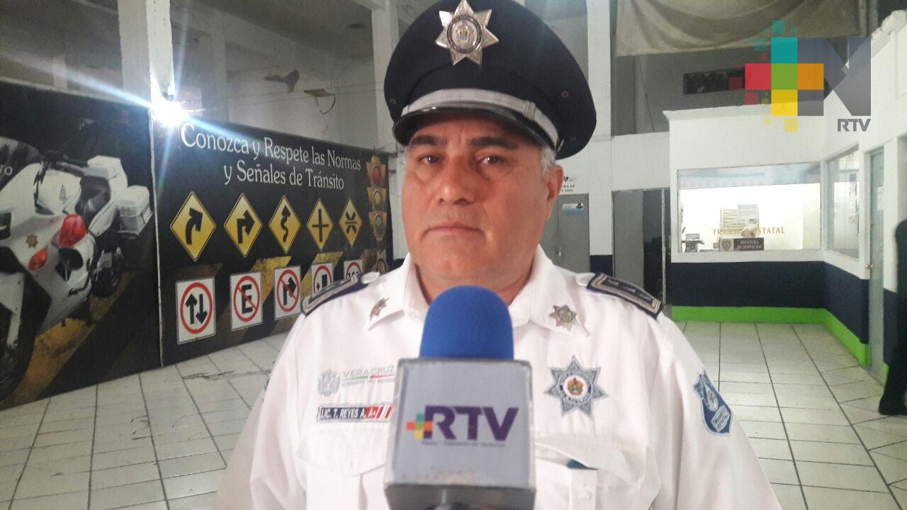 Tránsito realizará operativo en avenida Pino Suárez por festejo del 12 de diciembre